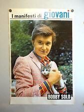I MANIFESTI DI GIOVANI - Poster Vintage - BOBBY SOLO + NAPOLI - 73x50 Cm [80]