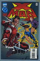X-Man #6 (Aug 1995, Marvel) Jeph Loeb Steve Skroce