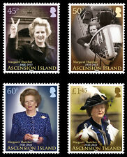 Ascension Is 2013 Lady Margaret Thatcher 4v set  SG 1172/5 MNH