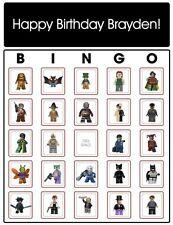 LEGO® Batman Bingo Cards - Personalized!
