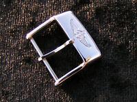 Breitling Stiftschliesse Dornschliesse buckle steel Stahl 16 mm NEU NEW NUEVA