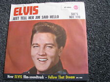 Elvis Presley-Just tell her Jim Said Hello 7 Ps-Made in Germany-RCA 47-8041