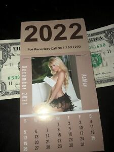 Hot Nude Girls Mini 2022 Calendars FREE SHIPPING FROM USA..early special