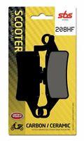 Coppia Pasticche Freno Anteriore SBS 208HF 6562080 YAMAHA HW Xenter 150 2013