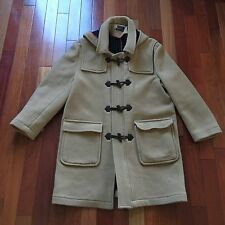 """Men's Marc Ecko """"In The Cut"""" Wool Toggle Coat, Size Large, and Beige"""