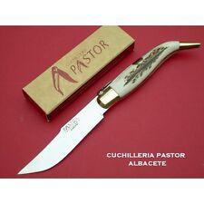Navaja clasica ALBACETE ciervo hoja de 11 cm PASTOR- Pastor knife