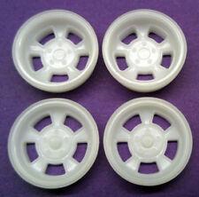 Resin 1/25 Halibrand 5 Slot Mag Wheels - Staggered Offset, Front & Rear Set