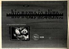 25/4/92 Pgn18 THE DIRT EATERS : HIS NAME IS STILL ALIVE E.P. ADVERT 7X10