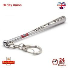 Suicide Squad Harley Quinn Good Night Baseball Bat Keychain Key Ring Gift Chic