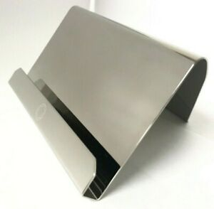 Montblanc Stainless Steel Business Card Stand NWOT Authentic