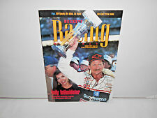 DALE EARNHARDTSR.RARE/PSA/DNA/ SIGNED BECKETT RACING MAGAZINE 1995/BRICKYARD WIN