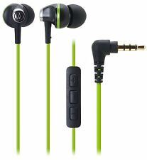 Audio-Technica ATH-CK313i-BGR SonicFuel In-ear Headphones ATHCK313i Black/Green