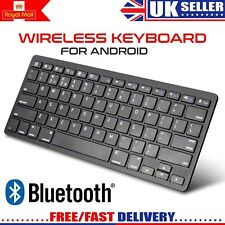 NEW Slim Wireless Bluetooth Keyboard For Apple iMac iPad Android Phone Tablet PC