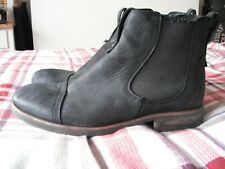7ab23430218 UGG Australia Leather Upper Black Boots for Men for sale | eBay