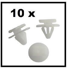 10 x VAUXHALL CORSA C WHEEL ARCH EXTERIOR TRIM CLIPS