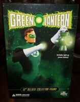 DC DIRECT COLLECTIBLES 12 13 INCH 1/6 SCALE SERIES DELUXE GREEN LANTERN FIGURE