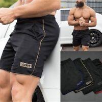 Men's Sports Training Bodybuilding Summer Shorts Workout Fitness GYM Pants Short