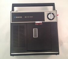 VTG Sanyo Cassette Tape Recorder M2200 Japan 3-Way Power Automatic Rec Control