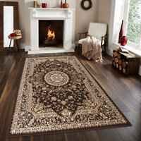 Empire Traditional-Turkish/Oriental Area rugs Brown, Navy, Red 2x3 3x5 5x7 8x10