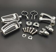 25mm Chrome AirFlow FootPeg For Honda GoldWing VTX1300 Shadow Valkyrie Triumph