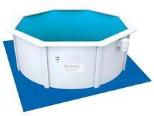 58001 Bestway Piscina Piano di Terra 335x335cm Telo Protezione Pavimento
