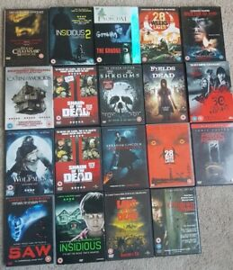 20 Halloween  Horror DVD Bundle 20 movies