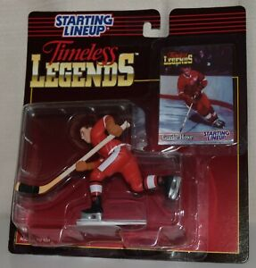1995 STARTING LINEUP TIMELESS LEGENDS 68804 -*GORDIE HOWE*- *NOS* #2