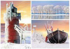 Puzzle Trefl 500 Teile Winter am Meer See Impressionen NEU 37242