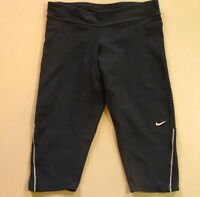 Nike Running Shorts S Dri-Fit Black Small Athletic Gym Workout Long Sports