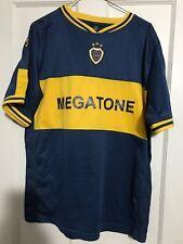 Boca Juniors Argentina Football Soccer Shirt Jersey Medium Megatone Authentic