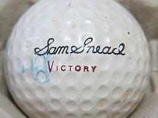 (1) SAM SNEAD SIGNATURE LOGO GOLF BALL (CIR 1964 VICTORY #3 WILSON)