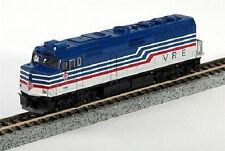 Piste N - Kato Locomotive diesel F40PH Virginia Railway Express 176-9002 NEU