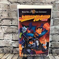The Batman Superman Movie VHS Casette Tape