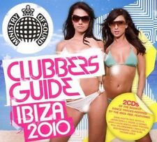 Clubbers Guide Ibiza (SEALED 2 x CD) Moby Jason Derulo Pitbull Bodyrox Guetta