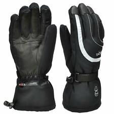 Heated Gloves,Heated Ski Gloves Mittens With 7.4V 2200Mah Electric Rechargeable