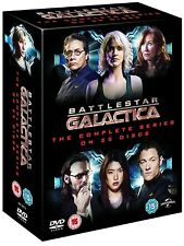 BATTLESTAR GALACTICA (2003-2009) COMPLETE New Reimagined TV Series UK DVD not US