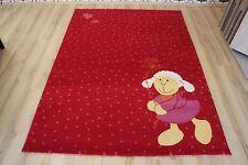 Alfombra infantil alfombra de Juego Sigikid sk-0524-05 Schnuggi 200x290 cm ROJO