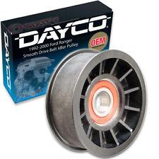 Dayco Smooth Drive Belt Idler Pulley for 1992-2000 Ford Ranger 3.0L V6 ex
