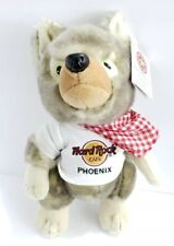 Hard Rock Cafe HRC Phoenix coyote Stuffed Animal 2009 Plus Herrington Teddy 12""