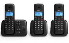 "BT 3960 Trio Digital Cordless Phone With Answer Machine ""NEW"""
