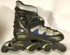 Sprint Inline Rollerblades Skates Abec 1. Adjustable Size 5 6 7