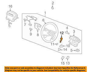 HONDA OEM Steering Wheel-Cruise Switch Bracket 78516SR4A81