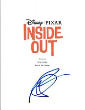 Amy Poehler Signed Autographed INSIDE OUT Full Movie Script COA VD