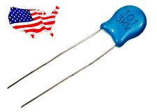 ' 3KV 101 100pF (5 pcs) Ceramic Capacitor - From USA