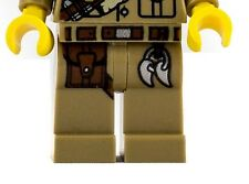 LEGO Dark Tan Hips and Legs Leather Pouch and Belt Major Quinton Steele Pattern