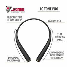LG TONE PRO HBS-780 Premium Bluetooth Wireless Stereo Headset - All Colors