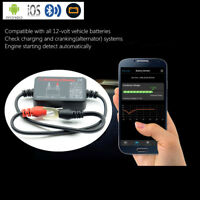 Bluetooth 12V Battery Load Tester Voltage Charging Cranking Test for iOS Android