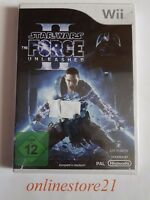 Star Wars The Force Unleashed II Nintendo Wii NEU NEW Komplett in Deutsch