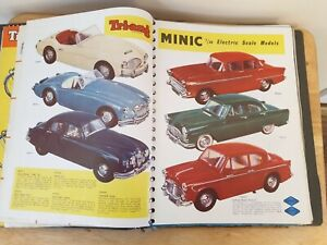 Triang RARE Lines Bros. Group Shop Catalogue 1950's/1960's Minic Spot-On Lorries