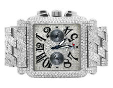 Mens Franck Muller King Conquistador Cortez Iced Out Diamond Watch 31.50 Ct